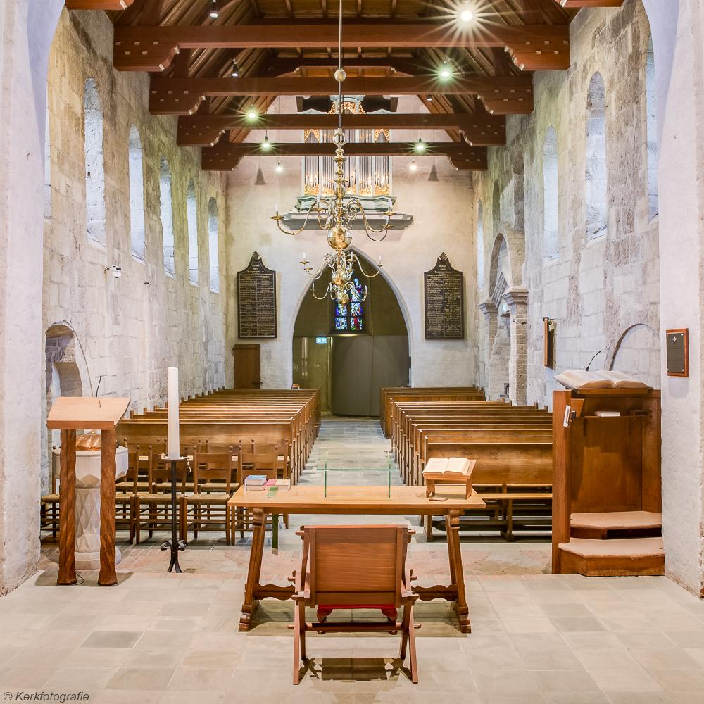 Interireur Oude Kerk